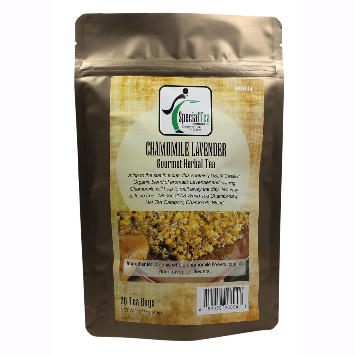 Blend gourmet herbal tea - Chamomile Lavender Organic Tea