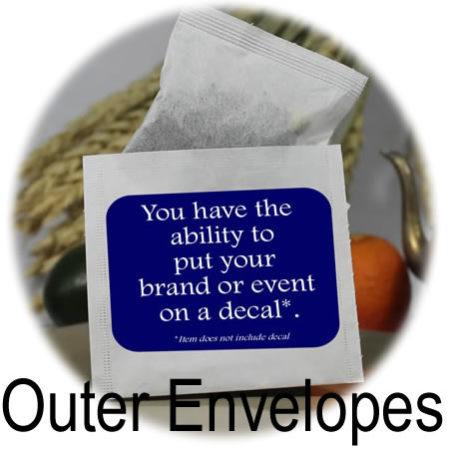 Tea Bag Envelopes / Favor Bags