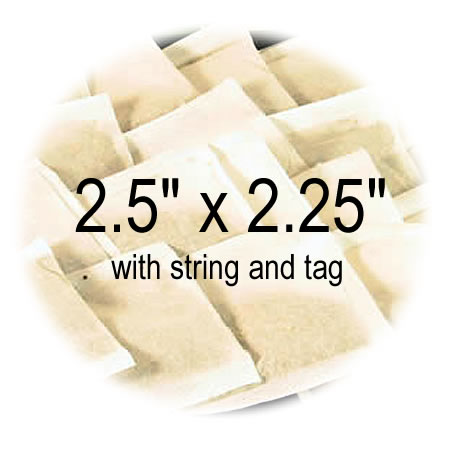 2.5 x 2.25 with string and tag