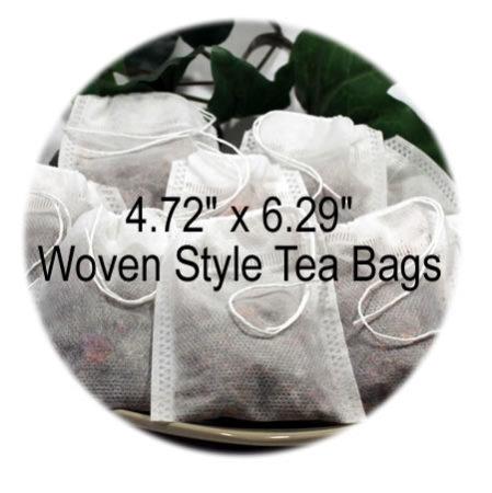 4.72 x 6.29 Woven Style Tea Bags