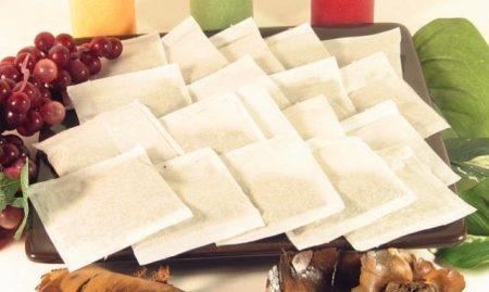 50 Empty Heat Seal Filter Paper Herb Loose 2.75 x 2 Tea Bags