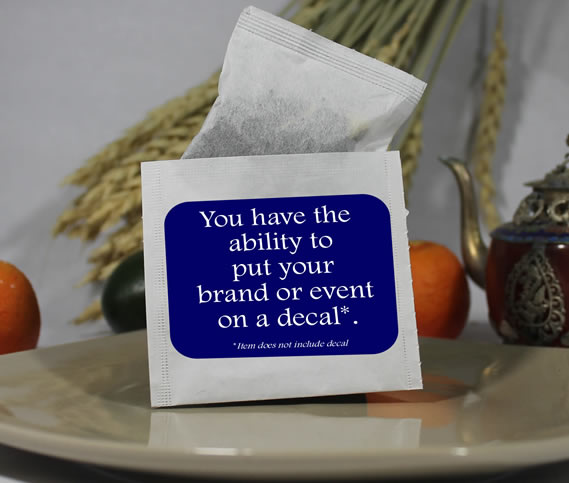 100 pcs Blank Self Sealing Tea Bag Outer Envelopes / Favor Bags