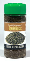 Black Peppercorn Ground Organic Pepper 2oz