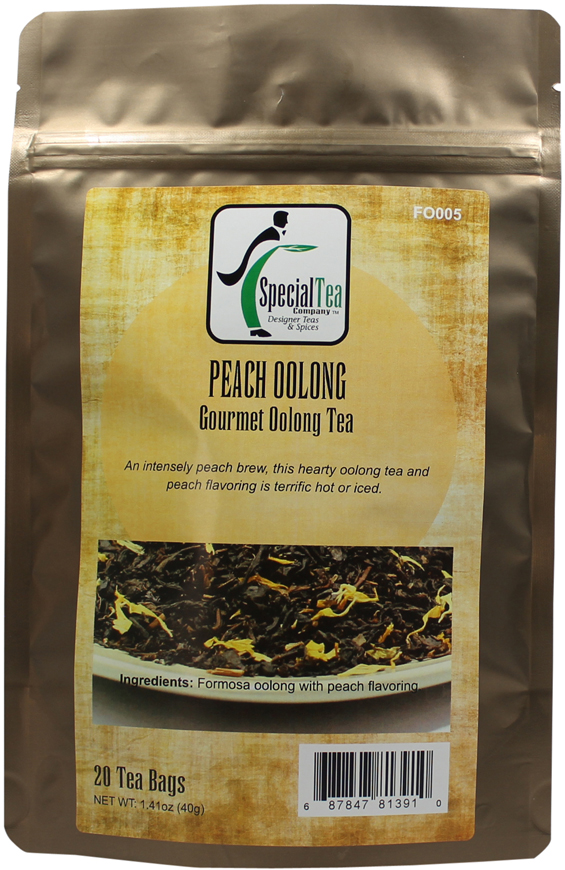 Peach Oolong, 20 Tea Bags