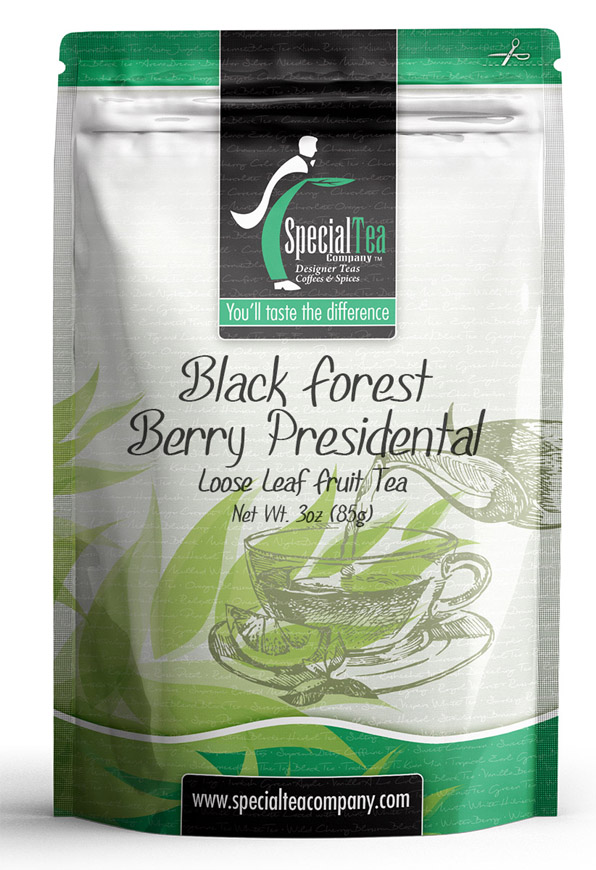 Presidential Blend: Black Forest Berry Fruit Loose Tea