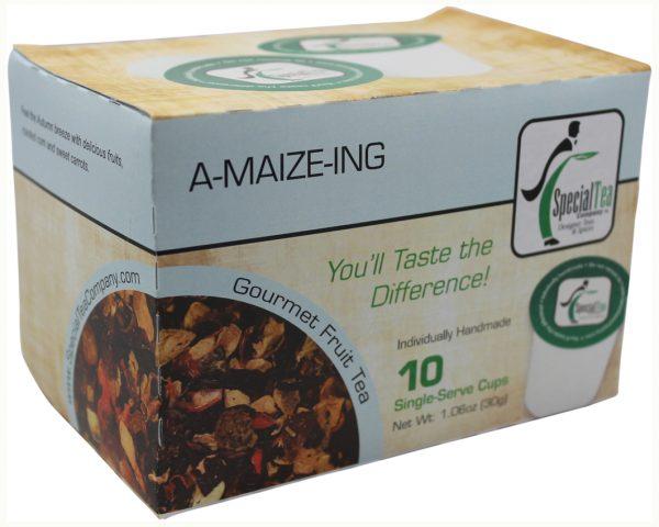 A-Maize-Ing, Fruit Tea Single Serve Cups, 10 Count