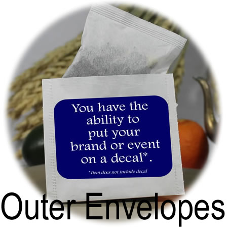 Tea Bag Envelopes / Favor Bags