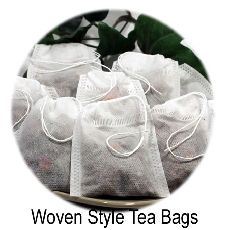 Woven Draw String Tea Bags