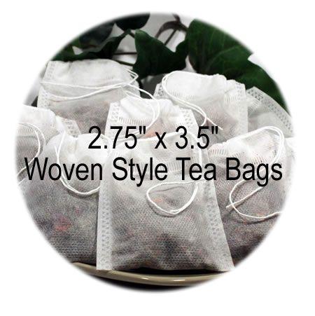 2.75 x 3.5 Woven Style Tea Bags