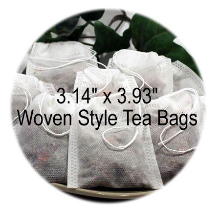 3.14 x 3.93 Woven Style Tea Bags