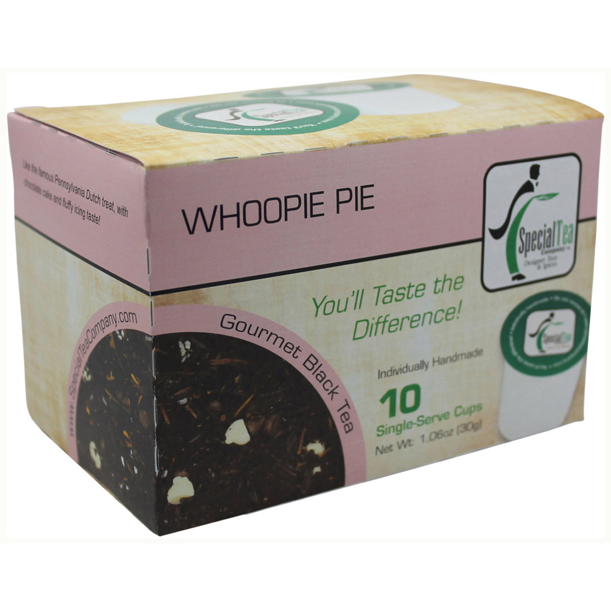 Whoopie Pie Black Tea - Single Serve Cups (Pack of 10)