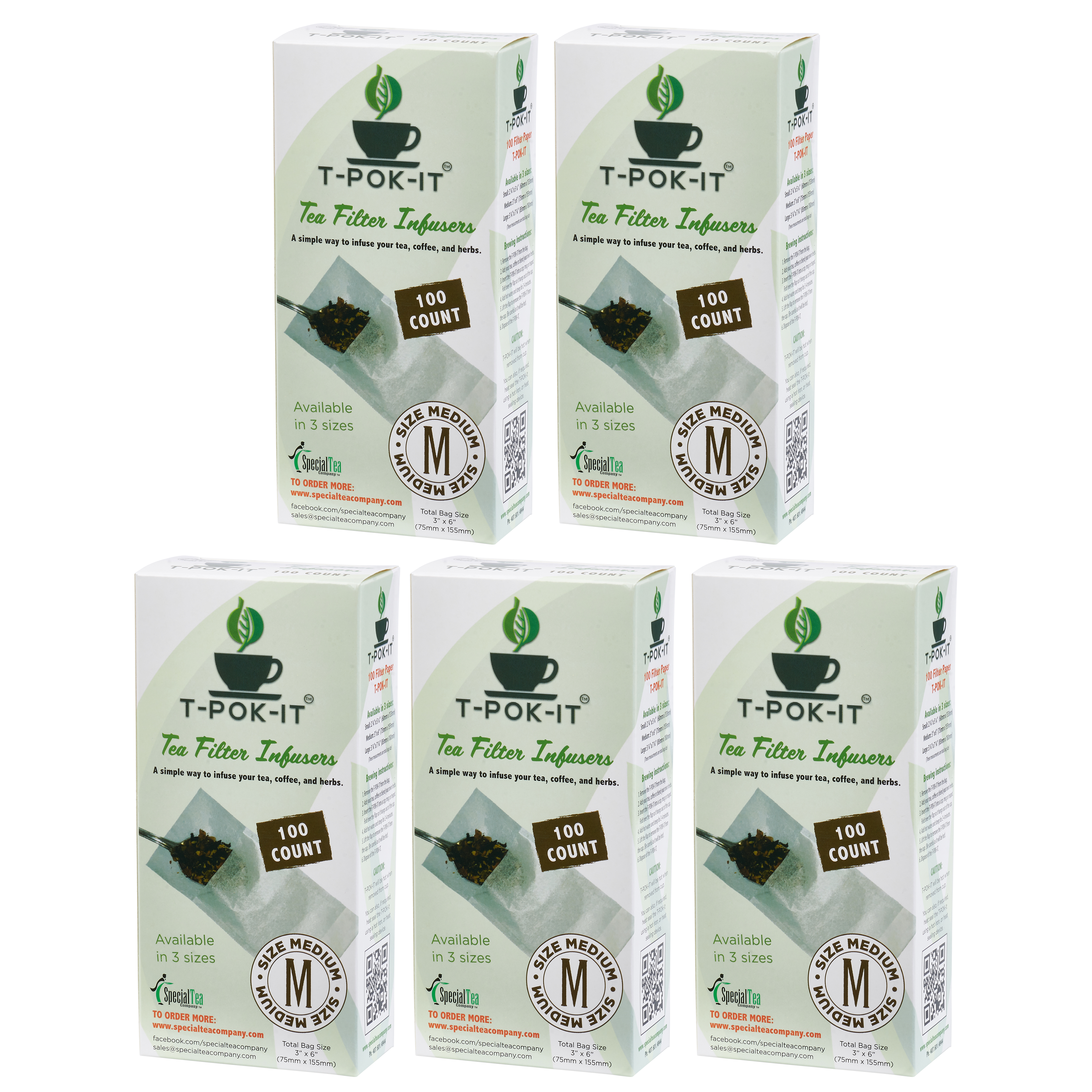 Empty Tea Bags For Loose Leaf And Herbs 3 X 6 500 Count